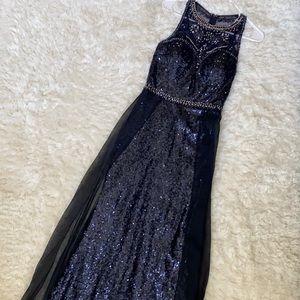 Sequins Maxi Dress